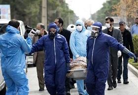 فوت ۳۰۴ بیمار کووید۱۹ در شبانه روز گذشته در کشور